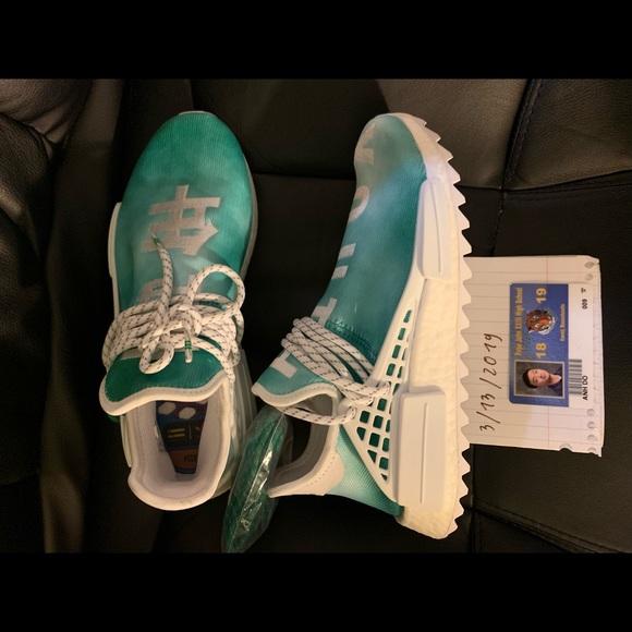 "9f590b58ecc9e Human race "" Youth "". NWT. adidas"